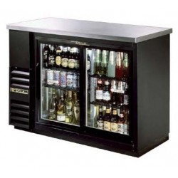 "Back Bar Cooler, Two-section, 24"" deep, 35-7/8"" high"