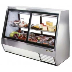 Double Duty Deli Case, pass-thru, 35 cu. ft., Low