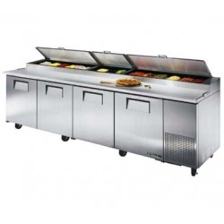 Pizza Prep Table, 43.9 cu.ft., 19.5""