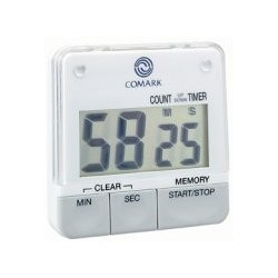 Big Digit Timer, digital, 99 minutes 59 seconds count-down capacity