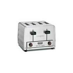 "Commercial Toaster, Heavy-duty, (4) wide 1-1/8"" slots, (4) Slice Capacity"