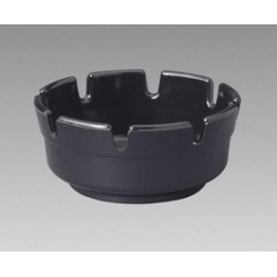 "Round Cup Ashtrays  4"" x 1 1/2""  (Black)"