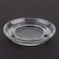 "5"" Stacking Safety Glass Ashtrays"