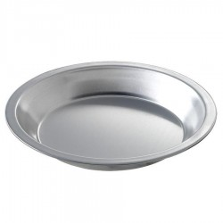 Deep Dish Pie Pan, 10-7/8 inch  (top inside) dia. x 1-1/4 inch