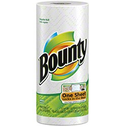 Bounty White Kitchen Roll Towel, 2 Ply, 30 Rolls