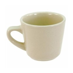 China Cup, 7 oz., Dover White