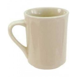 China Brawny Mug, 8-1/2 oz., Dover White