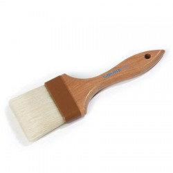 "Pastry Brush 3"" Wood Handle"
