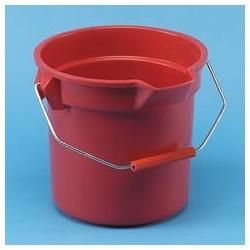Brute Plastic 10Quart Round Bucket