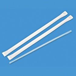 "Wrapped Jumbo Straws, 7-3/4"""