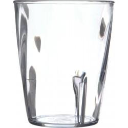 Swirl Tumbler, 9 oz., polycarbonate, dis