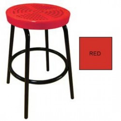 Perforated Outdoor Bar Stool