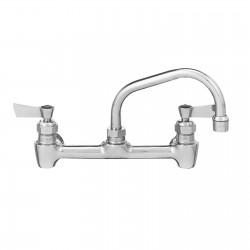 """Faucet, backsplash mount, 8"""" Center, 12"""" Spout"""