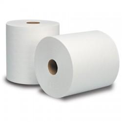 "White Dublsoft Dispenser Roll Towels  (Proprietary) 7-1/2"""