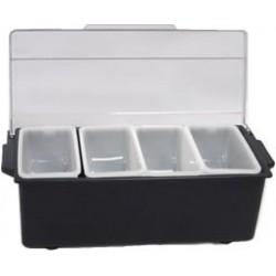 Condiment Bar Caddy 2 Quart