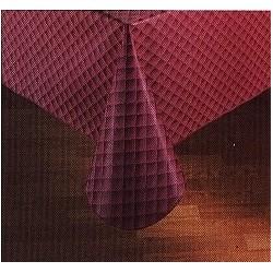 """Tablecloth Linen, 42"""" Square, Vinyl 4 gauge"""