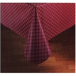 "Tablecloth Linen, 54"" x 88"" Rectangle, Vinyl 4 gauge"