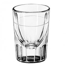 1.25-oz. Flutted x 1/2-oz. Line, Shot Glasses