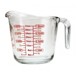 Measuring Cup, 32 oz. Glass