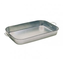"Bake Pan, 11""  x 17""  x 2-1/4"", Drop Handled, Aluminum"