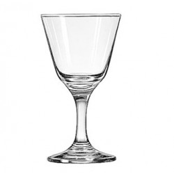 "Cocktail Glass, 4-1/2 oz., Safedge rim & foot, EMBASSY?, (Top diameter 2.875"", Bottom diameter 2.50"")"